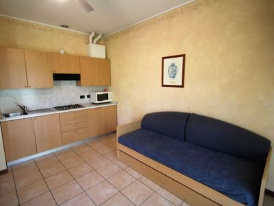 Photo for Apartment in the center of Toscolano Maderno with Internet, Parking, Garden, Balcony (115515)