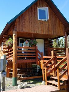 Photo for Fully Furnished Log House located between  Kenai and Soldotna