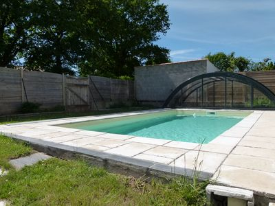 Photo for With heated private pool and Dome, to enjoy a family holiday