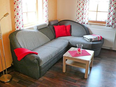 Photo for Vacation home Weitsicht in Lichtenhain (Bergbahn) - 4 persons, 2 bedrooms