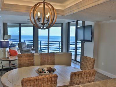 Photo for Luxurious, Newly REMODELED Oceanfront Condo with a View! EBB TIDE, 2 BD, 2 BA.