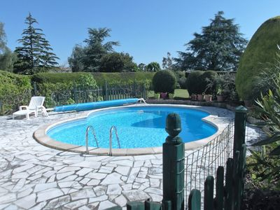 Photo for 3 bedroomed house with pool - a little bit of French tranquillity
