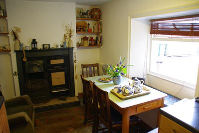 The welcoming kitchen
