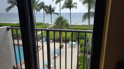 Photo for Incredible Sunset and Beach views WALK out directly to BEACH 3BR condo