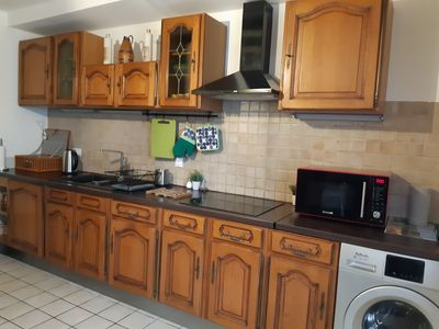 Photo for Burgundy house 80 m² for 1 to 6 people located in the city center of Mâcon