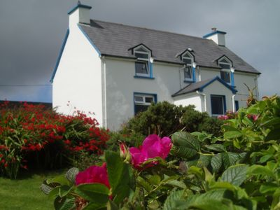 Photo for Traditional cottage with wonderful views of Brandon Bay, Dingle Peninsula