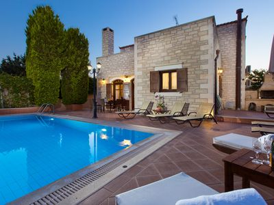 Photo for Family villa Elia with private pool, 2 minutes walking to local amenities