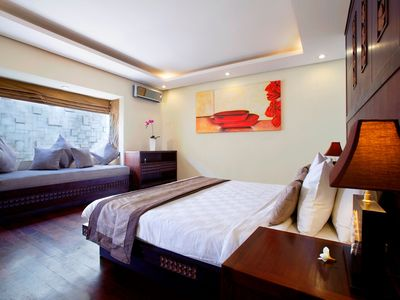 Photo for Two Bedroom Villa in Canggu, Private Pool with  spacious living and dining area