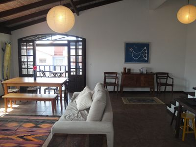 Photo for Large Balcony And View Pro Sea In Morrinhos. Free wi-fi.