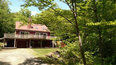 Photo for NH Mountain Getaway! Secluded Location Near Squam Lake