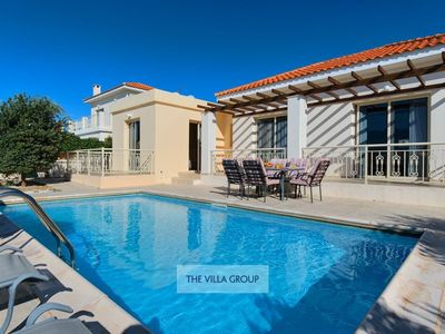 Photo for Kathikas Villa, Sleeps 6 with Pool and Air Con