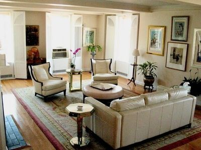 Photo for LUXURY 57th St.-EXTRA LARGE CONDO, 3/3, 360 VIEWS, Garden, Central Park, Theater