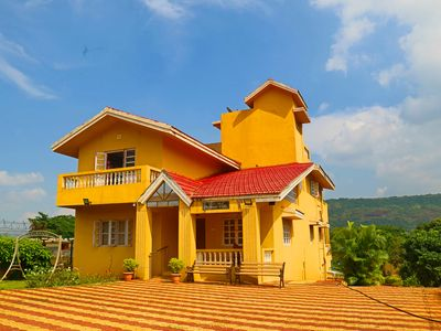 Photo for Private Farm Villa with large Open area- 6BHK