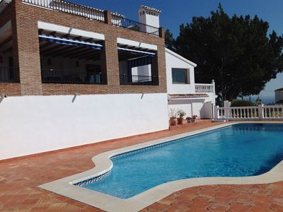 Photo for Beautiful 5 bedroom villa with 17 metre pool and stunning views. Reg VTAR/MA/02