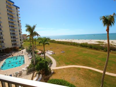Photo for Fantastic Gulf Views!  Direct Gulf Front with WiFi in Condo!