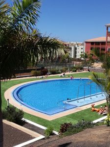 Photo for FANTASTIC APARTMENT WITH PRIVATE GARDEN! LARGE POOL, IN THE SOUTH OF TENERIFE