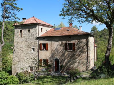 Photo for Romantic tower house with swimming pool (Ravenna, Bologna, Florence)
