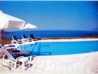Photo for Exquisite luxury Villa with panoramic views close to sea with large tiled pool