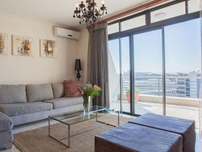 Photo for Lovely apartment for 2 guests with A/C, WIFI, pool, TV and parking