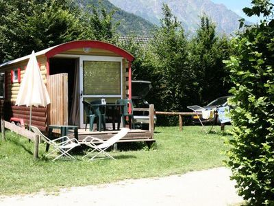Photo for Camping Le Colporteur **** - Trailer for 4 people without toilets
