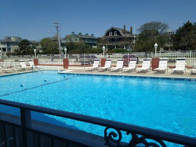 Photo for CAPE MAY Condo with Pool/Half Block to Beach