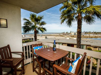 Photo for Whitewater Ocean, Jetty, Harbor, River, and Mountain View Beach Condo!