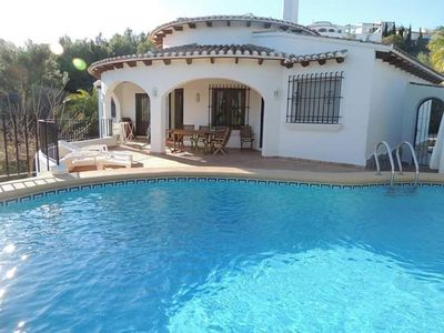 Photo for Beautiful Spanish villa between sea and mountains with private pool