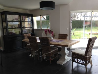 Photo for contemporary house in a quiet near Le mans / Tour 24