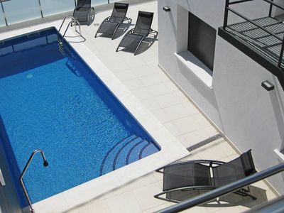 Photo for Wonderful private villa with A/C, private pool, WIFI, TV, washing machine and parking