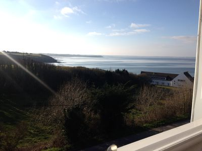Photo for Holiday house with a beautiful view over the bay of Douarnenez