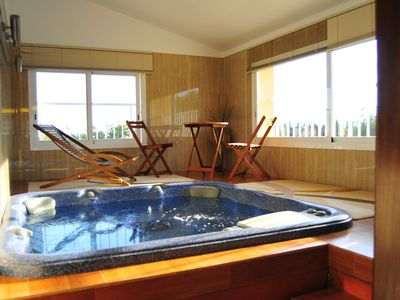 Photo for Modern villa for 8 people with pool and jacuzzi located 15 km from the sea