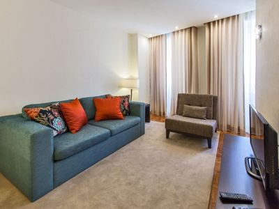 Photo for Classic 2.1 apartment in São Nicolau with WiFi & air conditioning.