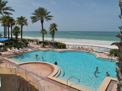 Photo for Tides 642-4-Beach Front Paradise!!-Luxurious pools-Hot tubs-Grills!