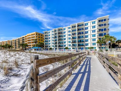 Photo for Amazing Gulf-Front View On Okaloosa Island, On-Site Pool, Walk-In Shower