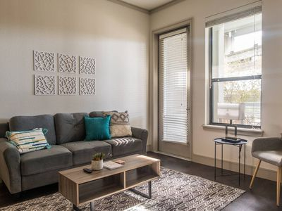 Photo for Hip + Comfortable 1BR Apt in Downtown