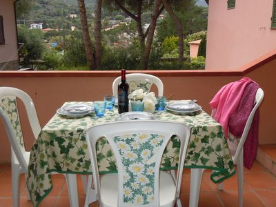 Photo for Nice apartment about 50 meters from the beach of Procchio. Well furnished with all comforts. Suitable for 4/5 people