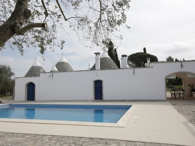 Photo for Hip trullo to experience Apulia with a twist. Trullo 7 cones just renovated