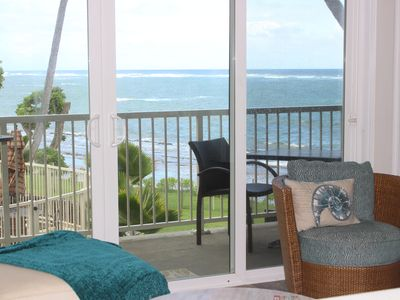 Photo for Direct Ocean Front, Sounds of waves, Tranquil Ocean Tradewinds