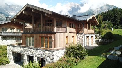 Photo for Hinterthal Hochkönig luxurious CHALET SKI in & out