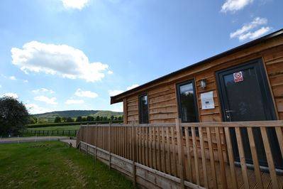 Exterior View of Red Kite Lodge