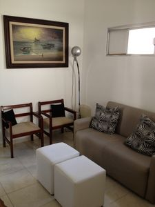 Photo for Cozy apt qto room in Copacabana, one block from the beach