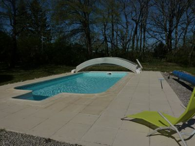 Photo for Gîte near Lascaux, Dordogne valley, all comfort with swimming pool