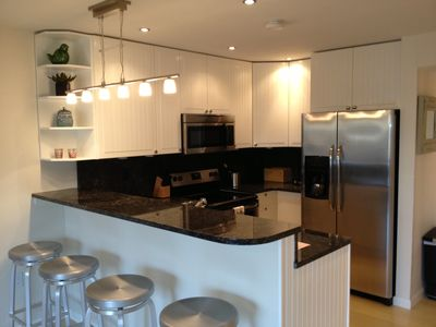 Kitchen: stainless steele, Granite countertops,All appliances Brand New