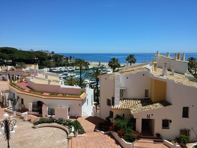 Photo for Beachfront Apartment in Puerto Cabopino