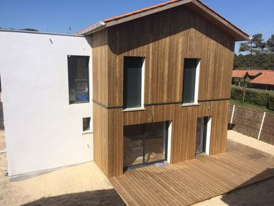 Photo for New house in the heart of Contis, close to beaches