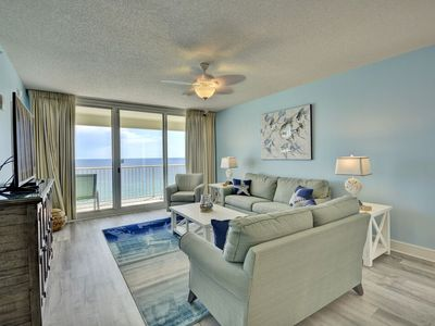 Photo for Gorgeous Gulf Front Majestic Beach Condo. Uninterrupted gulf views. 3br 2ba