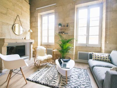 Photo for Superb duplex historical center heart of Bordeaux