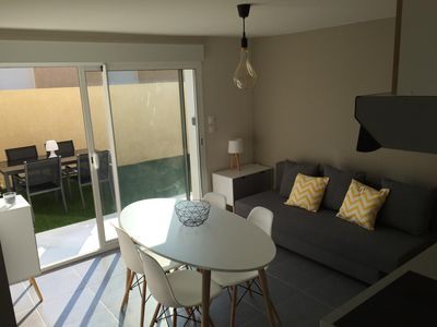 Photo for Charming T2 with garden | Apartment with garden