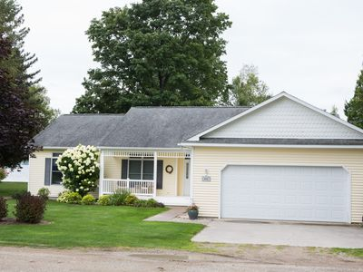 Photo for Lake Leelanau Lakefront Newer Home, Great Escape, Well Landscaped, Kayaks