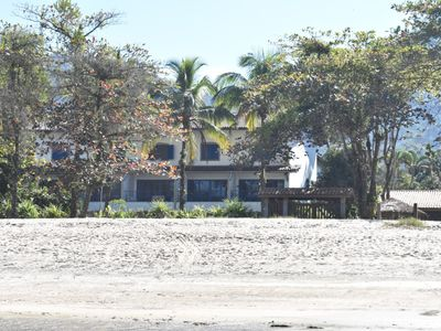 Photo for Gated community, direct access to the beach Perequê Mirim